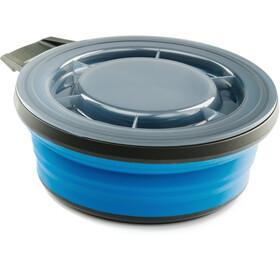 GSI Escape Skål med låg 651ml, blå/sort